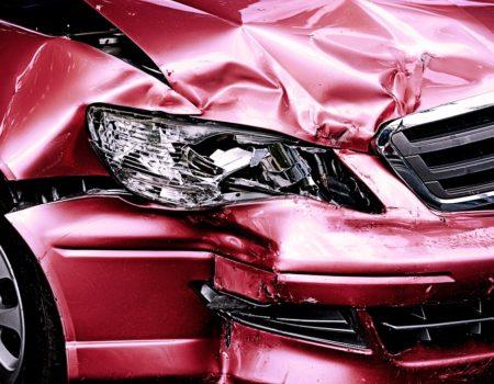 auto po zderzeniu