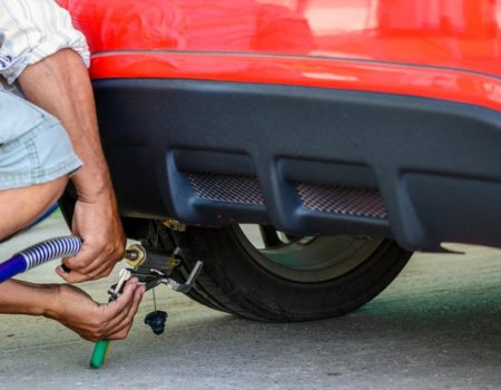 tankowanie gazu